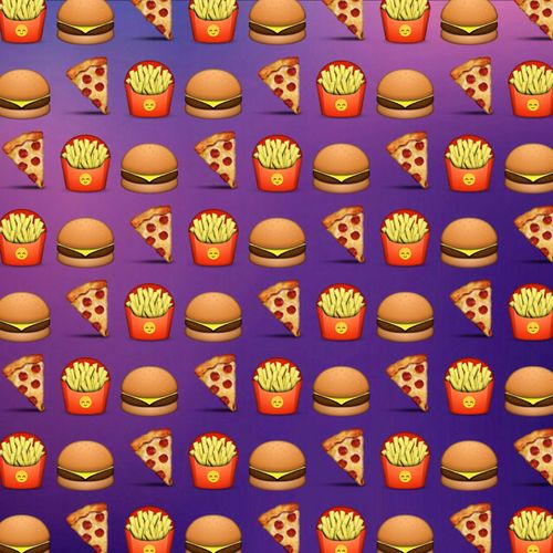 food emoji wallpaper with cute - photo #18