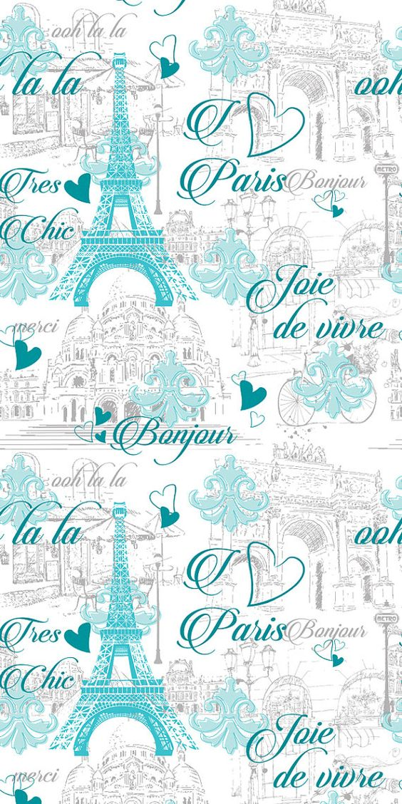 Pattern Name: Paris - Blue Pattern Repeat: 595mm wide x 668mm high  Sizes available:  27 wide x 96 tall panel Or 24 wide x 48 tall panel  Or order an A4 sized sample (21cm x 29cm). Limit of 5 samples per customer please :)  *We recommend that you measure the height and width of your wall to check how much wallpaper is needed, before placing an order. Please dont hesitate to contact us if you are unsure, we are happy to help. It is best to add an extra 2 centimetres to each measurement as some...