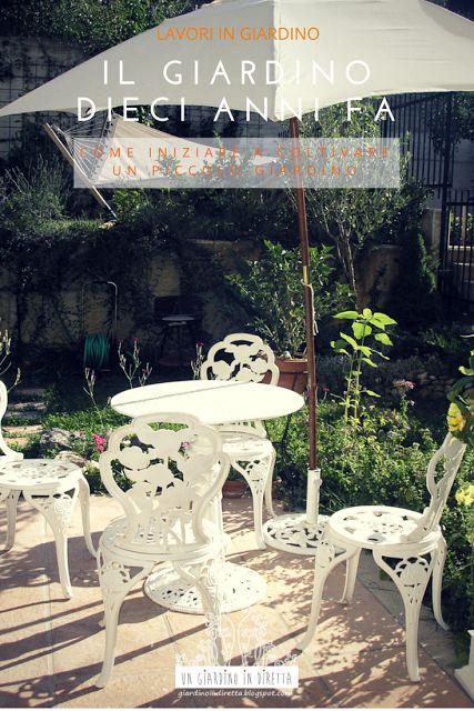 Ho ritrovato casualmente le prime foto digitali del giardino, datate agosto 2006, cioè 10 anni di giardinaggio fa!  Mi è sembrato, però, utile mostrarle a chi comincia ora a coltivare un piccolo giardino in modo che possa evitare almeno i miei 7 più grossolani errori. Scopri di più sul blog! #giardinoindiretta #progettazione #giardino #7ErroriDaEvitare