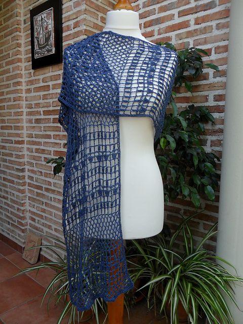 Ravelry: Lotus Flower shawl crochet pattern by Angele ...