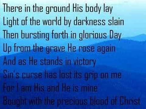 The Old Rugged Cross   Alan Jackson With Lyrics   YouTube