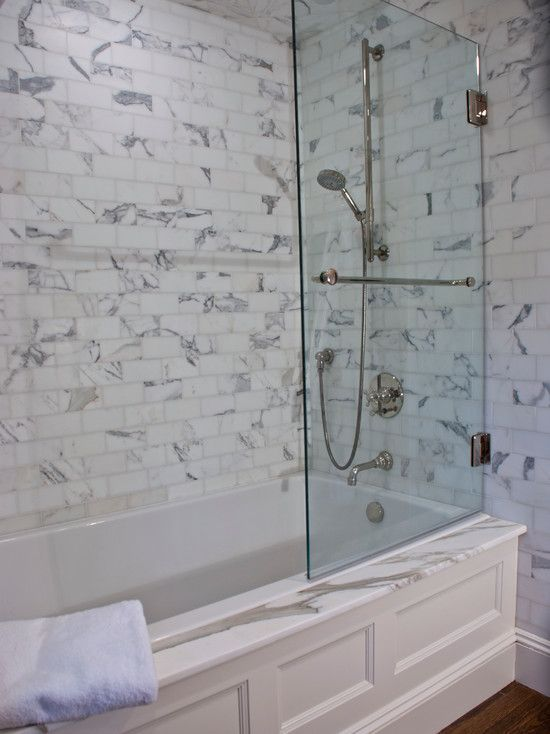Tub shower combo classic baths pinterest shower Shower tub combo with window
