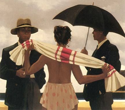 Jack Vettriano - The Gathering Clouds