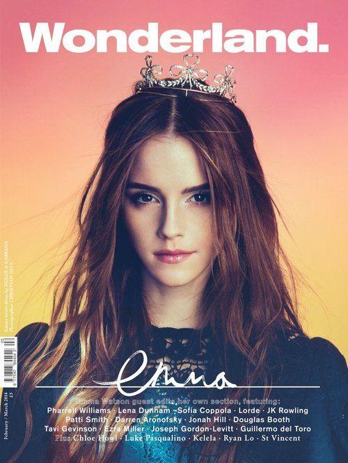 Emma Watson   Wonderland Magazine