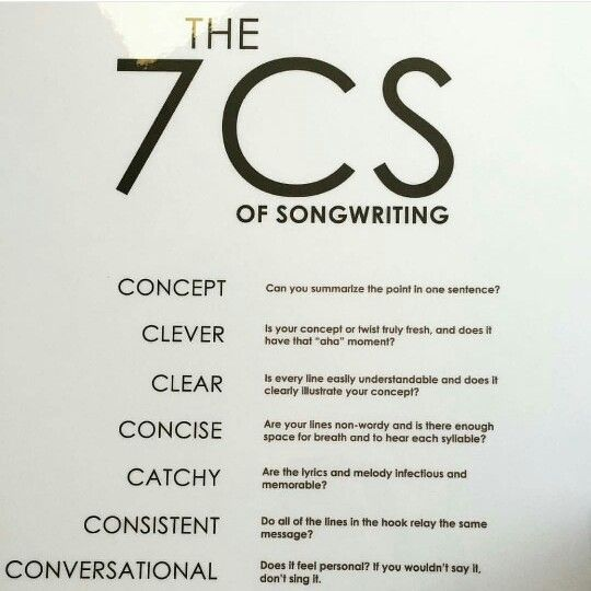 tips on song writing 24 lyric-writing tips 24 lyric-writing tips use perspective for example, a classic songwriting trick is to describe an event in the first verse.