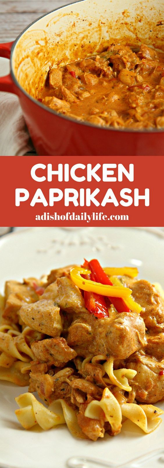 Chicken Paprikash | Recipe | Weekly meal plans, Love this ...