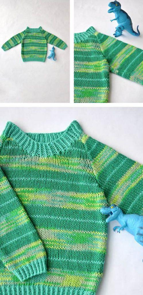 Let som en fe | Strikkeglad.dk | Baby knitting patterns