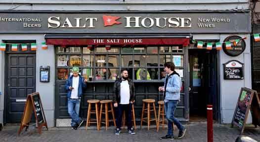 Salthouse Bar Galway. Credit: Derek Speirs/The New York Times