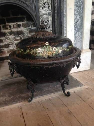 Toleware Coal bin in Latest Stock from The Shop Lewes