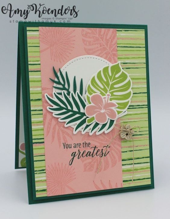 Stampin' Up! Tropical Chic for the Happy Inkin' Thursday Blog Hop – Stamp With Amy K