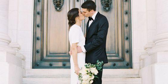 Modern in McQueen: Arielle Goldberg and Matthew Houlihan's Wedding in Washington D.C.