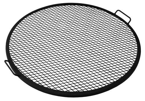 Mesh Fire Pit Cooking Grate. Great for cooking burgers in your fire pit