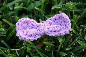 Easy Peasy Crochet Bow
