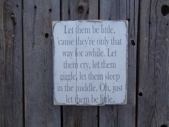 Let Them Be Little Nursery by DistressedLuv on Etsy