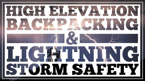 cool High Elevation Hiking Tips and also Lightening Storm Protection - CleverHiker.com Treking in lovely areas could commonly come with inevitable tradeoffs. Backpacking over tree line will certainly provide you superb sweeping sights, however you'll likewise be considerably a lot more subjected.  Lightning security and also high altitude treking safety and security are 2 essential abilities that typically go together. Understanding the best ways to securely browse these threats will...