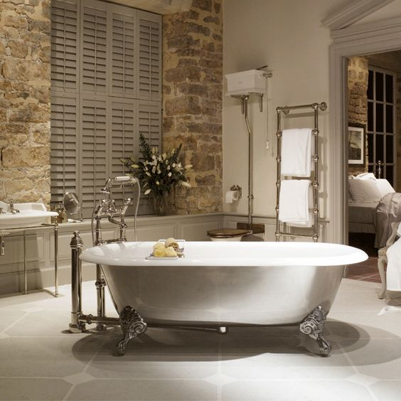 I want a clawfoot tub... if for no other reason than to have some place to read.