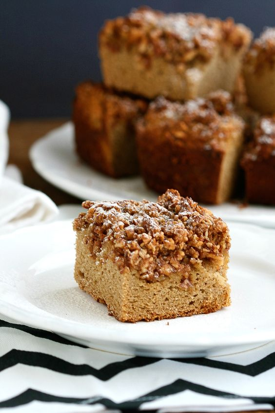 Coconut Flour Coffee Cake From Deliciously Organic
