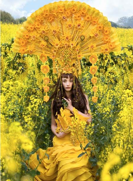 ❀ Flower Maiden Fantasy ❀ beautiful photography of women and flowers - kirsty mitchell