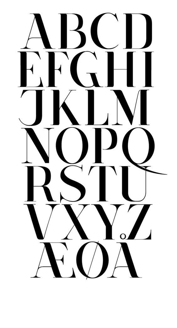 Corydon - Typeface by Nicki van Roon, via Behance:
