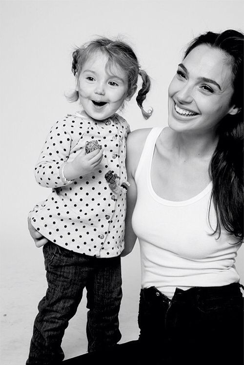 Gal Gadot and daughter