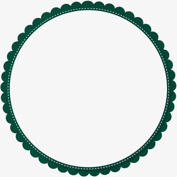 Green Simple Lace Circle Border Texture Circle Clipart Green Simple Png Transparent Clipart Image And Psd File For Free Download Circle Borders Circle Clipart Circle