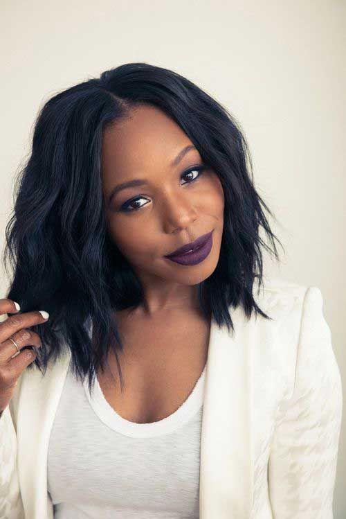 Super Choppy Bobs Bobs And Black Women On Pinterest Short Hairstyles Gunalazisus