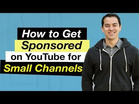 3 How To Get Sponsored On Youtube For Small Channels 5 Tips Youtube Social Media Success Youtube Influencer Agency
