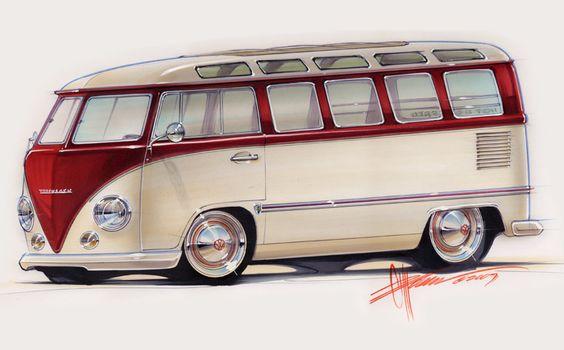 Foose Design VW bus