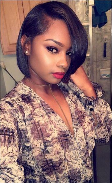 Wondrous Bob Haircuts Bobs And African American Women On Pinterest Short Hairstyles For Black Women Fulllsitofus