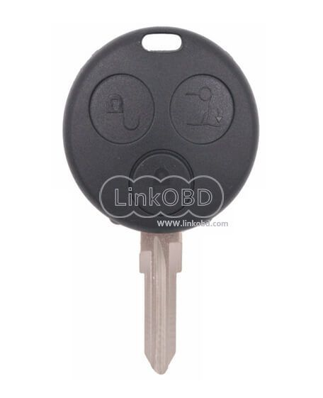 3 Buttons Key Fob 433mhz For Benz Smart Fortwo Forfour City
