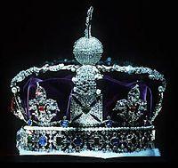 Queens Crown with K | Joyaux de la Couronne britannique