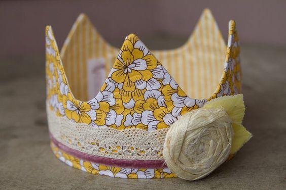 Fabric Crown - Princess Sunny