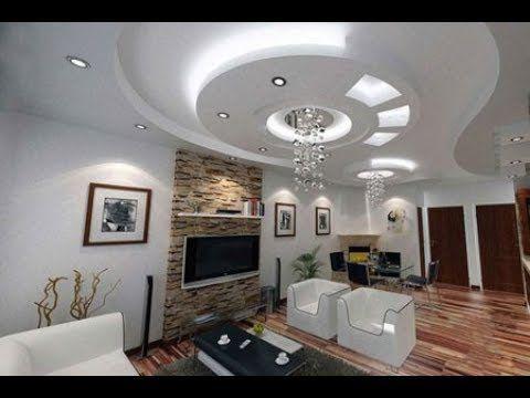 أسقف جبس بورد صالات حديثة الأكثر إبداعا لديكور منزلك قصر الديكور Ceiling Design Best Ceiling Designs Bedroom False Ceiling Design