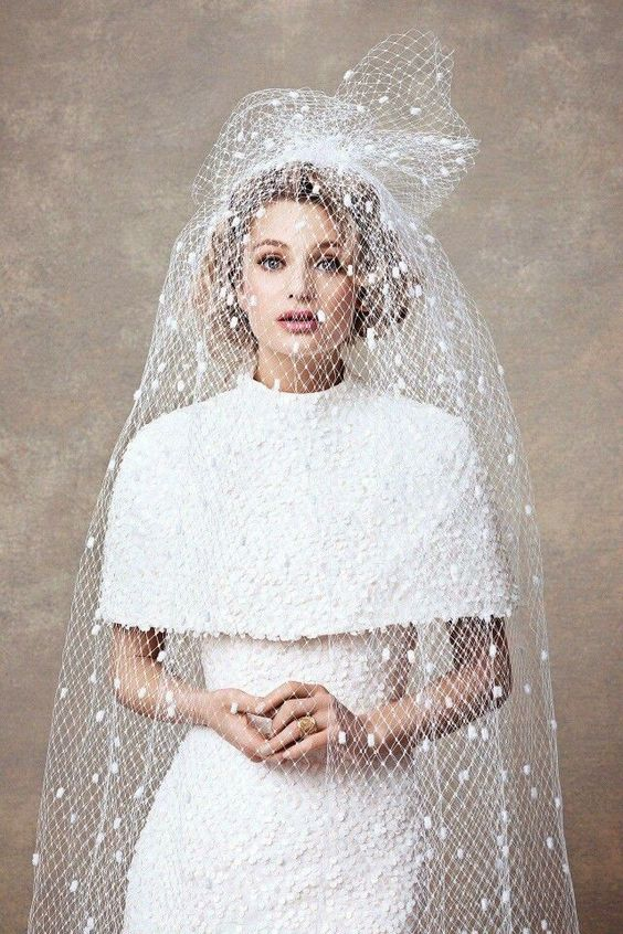Gorgeous vintage-inspired bridal look. { by Dauphine Magazine }