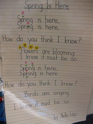 spring poem ~ Fall is here, Fall is here, How do you think ...