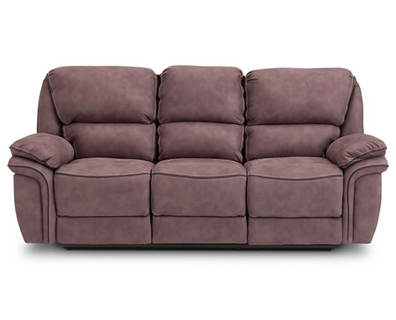 Sofas-Carver Reclining Sofa-Do the comfort locomotion