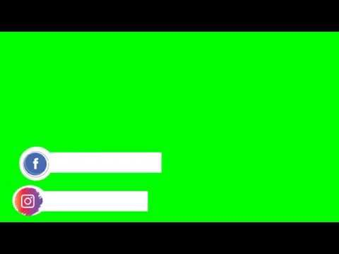 Green Screen Logo Instagram Dan Fb Youtube Logo Instagram Desain Logo Bisnis Gambar Latar Belakang