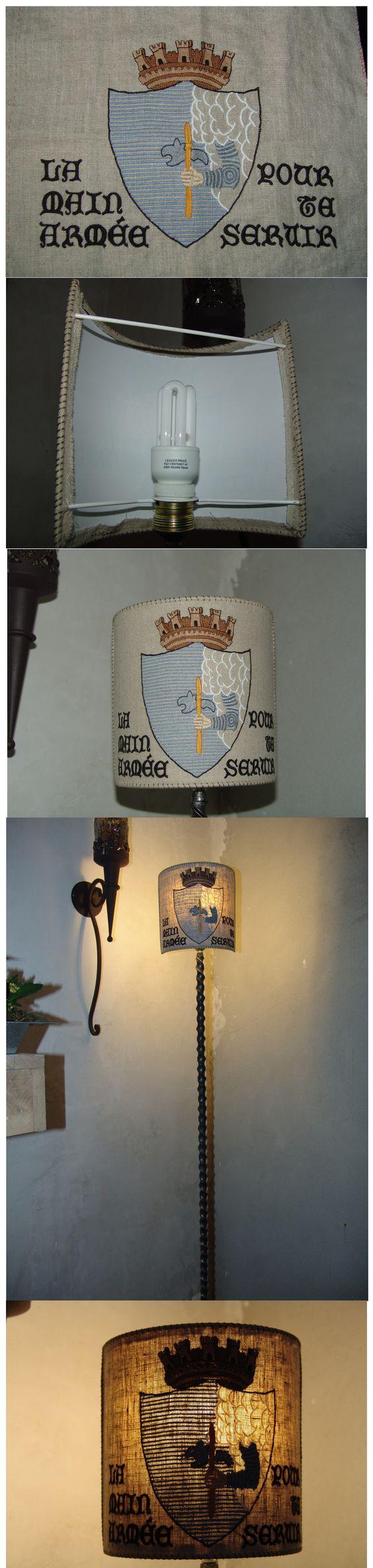 ma lampe, totalement Mazérienne