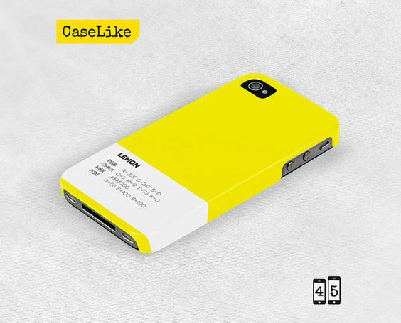 3D #iPhone 5 #Case Yellow Plain Solid Color iPhone Case by #caselike, $22.00