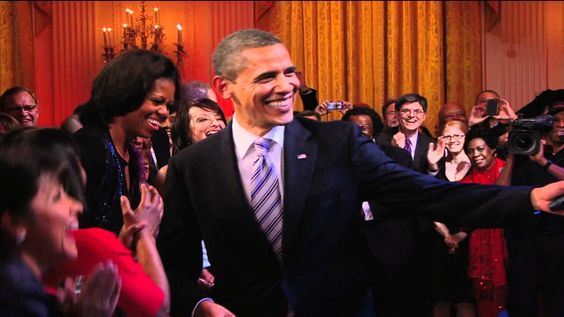 "In Performance at the White House | President Obama Singing ""Sweet Home ..."
