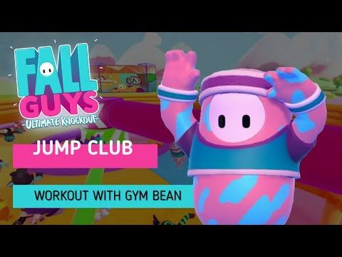 Fall Guys Ultimate Knockout Gameplay On Youtube Jump Club This Game Mode Is A Survival Type Mini Game Jump Over The Spinning Beam W In 2020 Guys Mini Games Fall