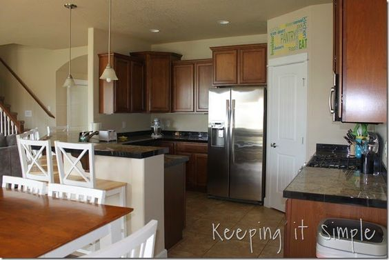 How to Install a Kitchen Back Splash #DIY #Tiling