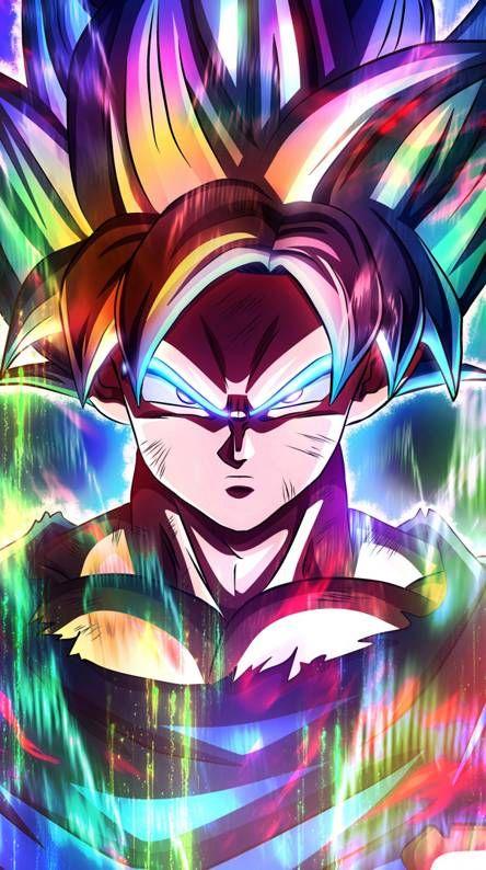 Goku De Colores Dragon Ball Super Artwork Dragon Ball Z Iphone Wallpaper Dragon Ball Wallpapers Dragon ball z wallpaper zedge