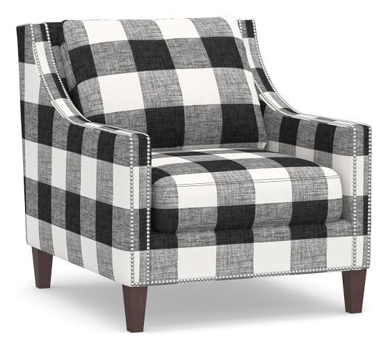 Pasadena Upholstered Armchair Print And Pattern Upholstered
