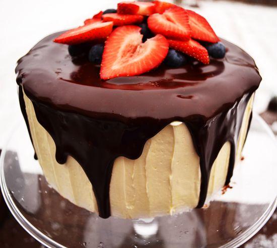 Chocolate Flood Cake