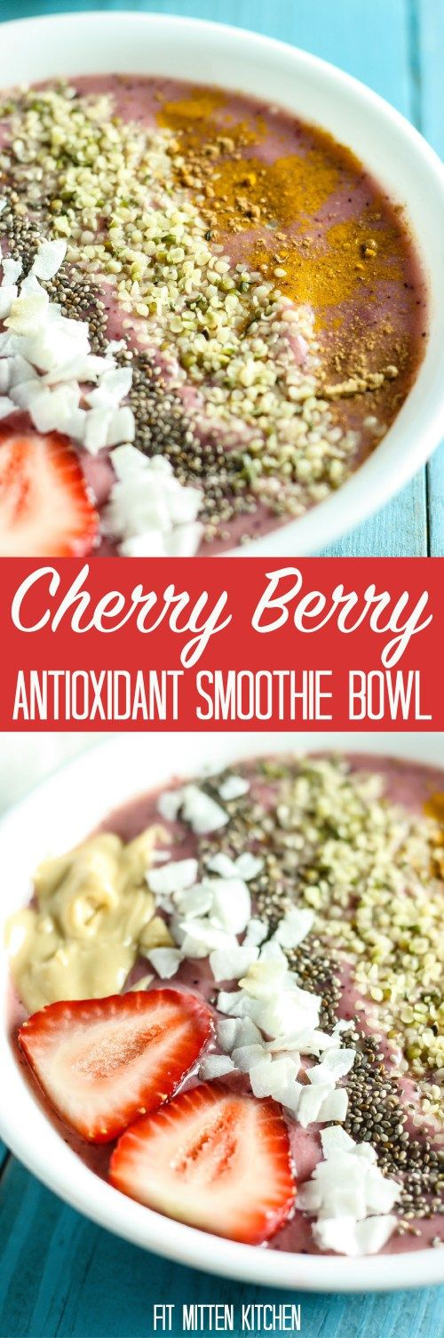 Antioxidant smoothie, Smoothie bowl and Smoothie on Pinterest