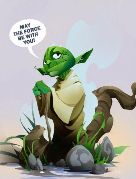 Star Wars Hero Yoda Dela Longfish1 750x989 Pic On Design You Trust