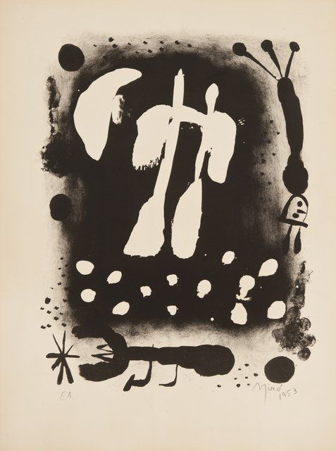 Joan Miró - La clé des champs, Print