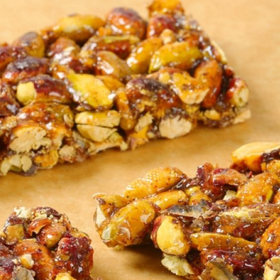 These honey nuts bars have so much flavor and are a great healthy snack.. Honey Nut Bar Recipe from Grandmothers Kitchen.