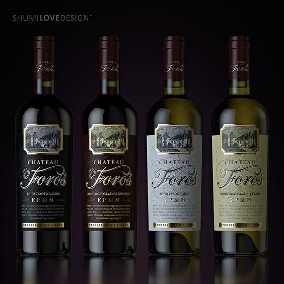 """Разработка оформления для крымских вин """"Chateau Foros"""". Дизайн ТМ, разработка дизайн-концепции, дизайн этикетки, пре-прессЗАКАЗЧИКLudingЗАДАЧАПеред агентством была поставлена задача разработать дизайн для серии качественных крымских вин. В оформлении…"""